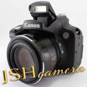 【中古】Canon デジタルカメラ PowerShot SX50HS 約1210万画素 光学50倍ズーム ブラック PSSX50HS|jsh