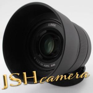 Panasonic 単焦点レンズ マイクロフォーサーズ用 ルミックス G 25mm/ F1.7 AS...