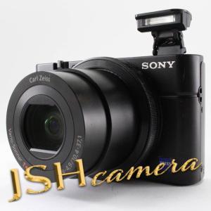 【中古】SONY デジタルカメラ DSC-RX100 1.0型センサー F1.8レンズ搭載 ブラック Cyber-shot DSC-RX100|jsh