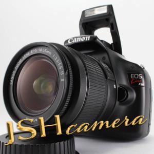 Canon デジタル一眼レフカメラ EOS Kiss X50 レンズキット EF-S18-55mm F3.5-5.6 IS II付属 ブラック KISSX50BK-1855IS2LK jsh