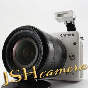 Canon ミラーレス一眼カメラ EOS M3 レンズキット(ホワイト) EF-M18-55mm F3.5-5.6 IS STM 付属 EOSM3WH-1855ISSTMLK|jsh