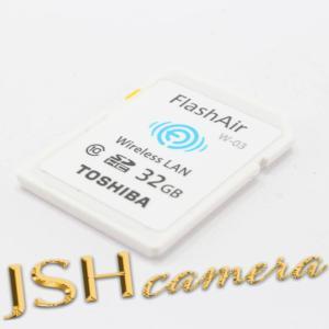 【中古】東芝(TOSHIBA) 東芝 TOSHIBA 無線LAN搭載 FlashAir III 第3世代 WiFi SDHCカード クラス10 日本製 (32GB) [並行輸入品]|jsh