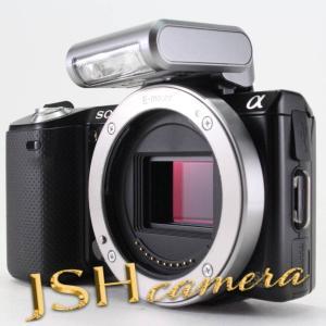 SONY デジタル一眼カメラ α NEX-5N ボディ ブラック NEX-5N/B|jsh