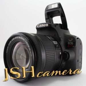 【中古】Canon デジタル一眼レフカメラ EOS Kiss X9 EF-S18-55 IS STM レンズキット(ブラック) KISSX9BK1855F4ISSTML|jsh