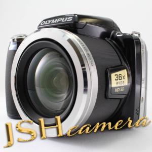 【中古】OLYMPUS デジタルカメラ SP-810UZ ブラック 1400万画素 光学36倍ズーム 3.0型ワイドLCD 広角28mm 3Dフォト機能 SP-810UZ BLK|jsh