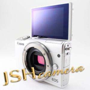 【中古】Canon ミラーレス一眼カメラ EOS M100 ボディー(ホワイト) EOSM100WH-BODY jsh