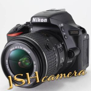 Nikon デジタル一眼レフカメラ D5500 18-55 VRII レンズキット ブラック 2416万画素 3.2型液晶 タッチパネル D5500LK18-55BK jsh