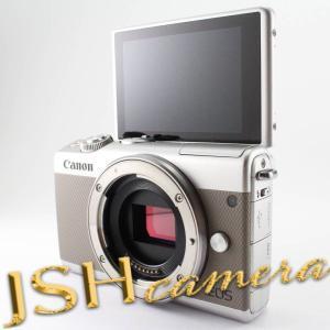 Canon ミラーレス一眼カメラ EOS M100 ボディー(グレー) EOSM100GY-BODY|jsh