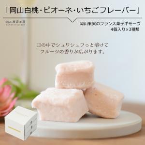 お中元 ギフト 岡山果実のフランス菓子 ギモーヴ4個X3種 マシュマロみたい 送料無料