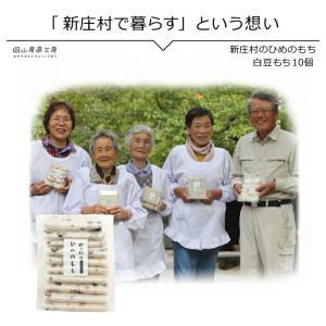 白豆もち10個入り 新庄村のひめのもち |jshop-web