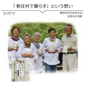 白豆もち5個入り 新庄村のひめのもち |jshop-web