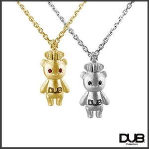 【DUB collection ダブコレクション】ナオピー 天野眞隆 model Crown Bear Necklace DUB-c023【送料無料】|jsj