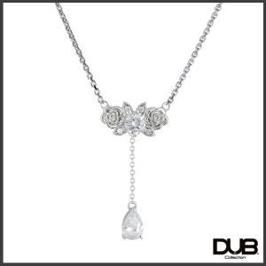 【DUB Collection│ダブコレクション】桜井莉菜 model Rose Necklace ローズネックレス DUB-C037-1【さくりなコラボ】|jsj