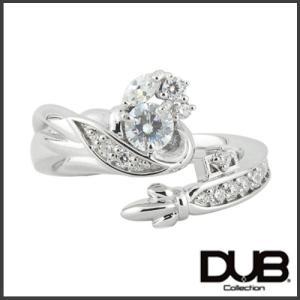 【DUB Collection│ダブコレクション】桜井莉菜 model Wing Key Ring ウィングキーリング DUB-C058-1(WH)【さくりなコラボ】|jsj