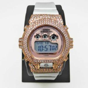 【Custom G-Shock カスタムGショック】 SV Baby-G 腕時計【送料無料・代引き手数料無料】シルバー スワロフスキー ベビージー ウォッチ ベビーG |jsj