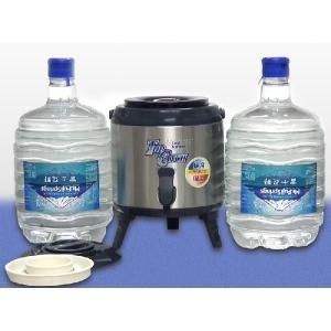 ジャグ&アダプターと8リットル天然水2本のセット|jspark
