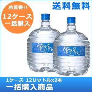 【送料無料!】【バナジウム含有】麗峰富士 12ケース(12リットルx24本)|jspark