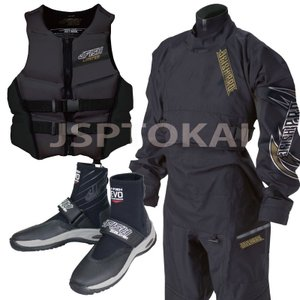 【3点セットSALE】ジェイフィッシュ プロ ドライスーツ ソックス 胸ファスナー 小用ファスナー ジェットスキー 水上オートバイ|jsptokai