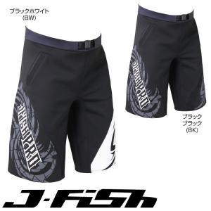 【SALE】ジェイフィッシュ JJT38 人気 プロ フリースタイルトランクス ハーフ ネオトランクス ウェットスーツ ボードショーツ 海パン|jsptokai