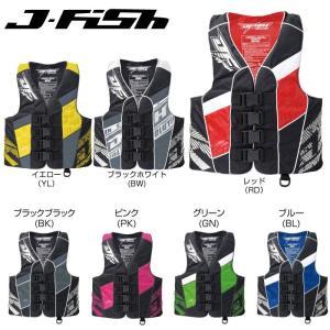 【SALE】JLV-381 ジェイフィッシュ ライフジャケット エボリューション  男女 JCI  ジェットスキー 救命胴衣 ライフベスト  EVOLUTION    |jsptokai