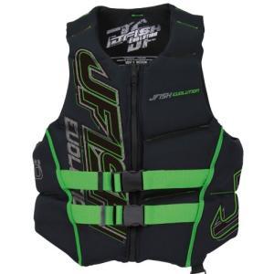 【SALE】ジェフィッシュ  エボリューション EVOLUTION ライフジャケット ジェットスキー 水上バイク 水上オートバイ ライフベスト 救命胴衣|jsptokai