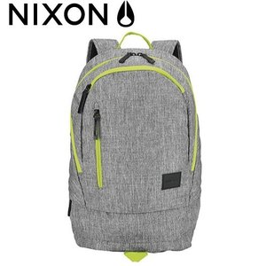 ニクソン 正規品 NIXON Backpak RIDGE SE/Hether Gray Lime リ...