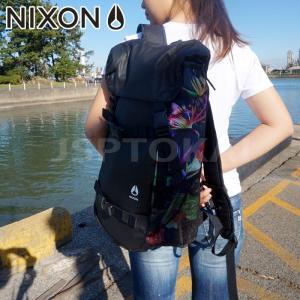ニクソン   NIXON LANDLOCK BLACKPARADCE リュック バックパック  サー...