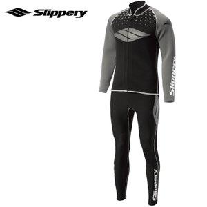 【SALE】スリップリー ウエットスーツ BREAKER 2   ブレーカースーツ ロングジョン&ボレロ 2点 メンズ SLIPPERY  水上オートバイ jsptokai
