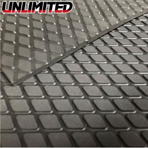 UNLIMITED  カットシートタイプ デッキマット 汎用マット シールなし ダイヤ ブラック 黒 アンリミテッド 水上バイク ジェットスキー UL024BK|jsptokai