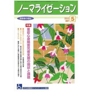 月刊「ノーマライゼーション障害者の福祉」2013年5月号(第33巻 通巻382号)|jsrpd