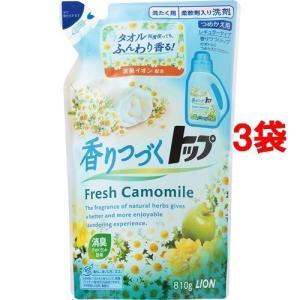 香りつづくトップ フレッシュカモミール つめかえ 810g*3コセット|jsrstore