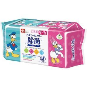 ドナルド&デイジー ノンアルコール 除菌シート 日本製 パラベンフリー 60枚入*3コパック jsrstore