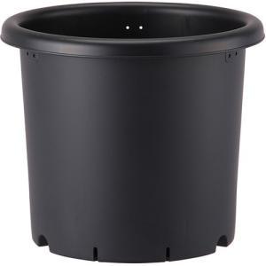 菊鉢 5号 ブラック 1コ入|jsrstore
