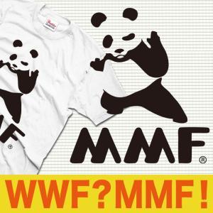 おもしろTシャツ メンズ キッズ WWF パンダ パロディ ...