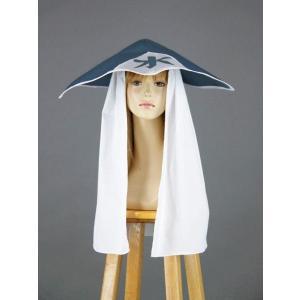 コスプレ 小道具 ナルト 水影風 帽子 コスチューム