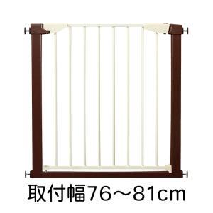 JTC シンプルベビーゲートSTプラス 取付幅76〜81cm (本体のみ) ワイド 突っ張り 赤ちゃん フェンス