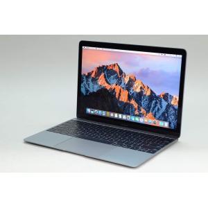 [中古] Apple MacBook 12インチ 256GB スペースグレイ MLH72J/A