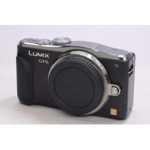 中古 ミラーレス 一眼 Panasonic LUMIX DMC-GF6(K)