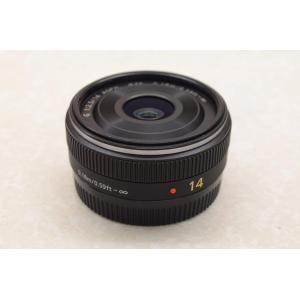 中古 デジカメレンズ Panasonic LUMIX G 14mm/F2.5 ASPH(H-H014...