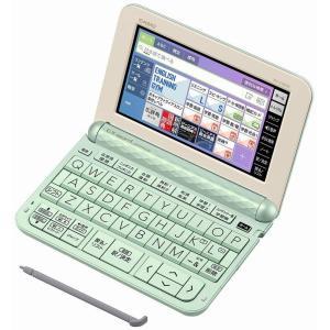 [展示品] CASIO XD-Z4800GN(グリーン)電子辞書 エクスワード 高校生モデル