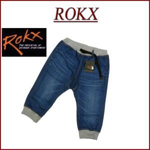 ROKX ロックス デニム コットンウッド クロップド クライミングパンツ RXMS6204
