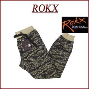ROKX ロックス COTTONWOOD TIGER PANT タイガーカモフラージュ アスレチック...