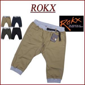 ROKX MG WOOD CROPS ロックス MG ウッドクロップス 七分丈 アスレチックパンツ ...