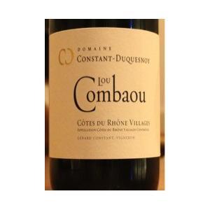 <直輸入> Cotes du Rhone Village Lou Combaou(Domaine Constant-Duquesnoy) 2012コート デュ ローヌ ヴィラージュ ル コンバウ|juan-les-pins-shop