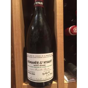 DRC Romanee Saint Vivant (Domaine de la Romanee Conti) 2003年 DRC ロマネ サン ヴィヴァン (ドメーヌ ド ラ ロマネ コンティ) juan-les-pins-shop