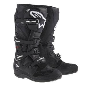 Alpinestars TECH7 オフロードブーツ ブラック 新品 送料無料!|jubet-store