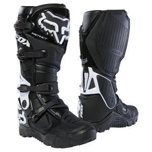 FOX フォックス INSTINCT X BOOTS インスティンクト X ブーツ ライディングブーツ レーシングブーツ ロードブーツ ブラック|jubet-store