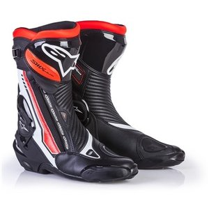 Alpinestars SMX PLUS BOOT 1015 BLACK RED WHITE 送料無料! jubet-store