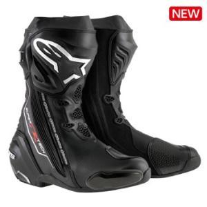 Alpinestars SUPERTECH-R ロードブーツ BLACK 送料無料!|jubet-store