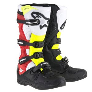 Alpinestars TECH5 アルパインスター ブラック/ホワイト/レッド/イエロー 送料無料!|jubet-store